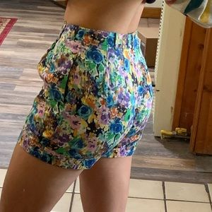 Funky 80s shorts